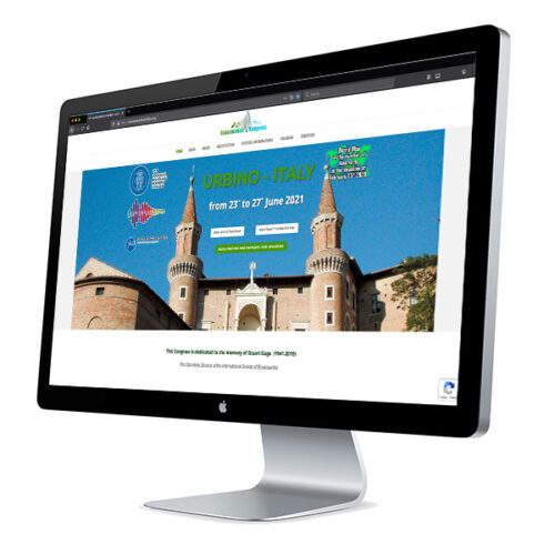 Sito web Ecoacoustic Congress